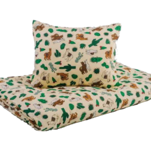 Lámás ovis pamut ágynemű