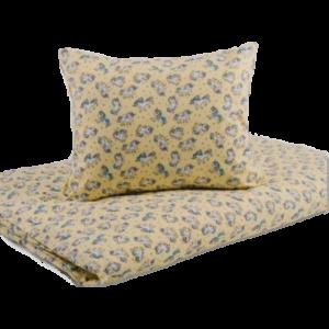 Sárga unikornisos ovis pamut ágynemű