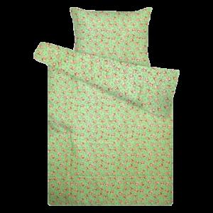Zöld macis flanel ovis ágynemű